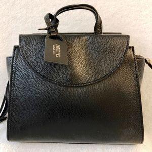 NEW Black Pebbled Leather Kate Spade Handbag